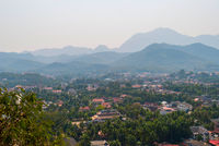 View over Luang Prabang, Laos