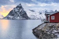 holiday home on the lofoten islands