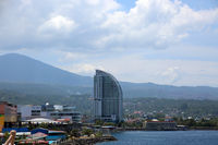 View on Manado in North Sulawesi