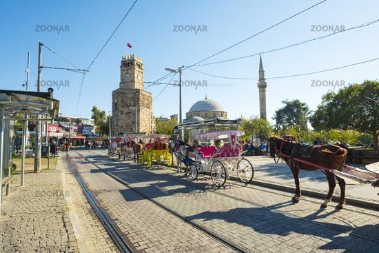 Horse Carriage Tekeli Mehmet Pasa Mosque Antalya H