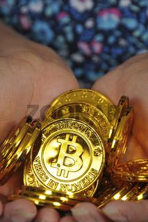 Jar Full of Bitcoin