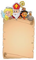 Saint Nicholas Day topic parchment 1