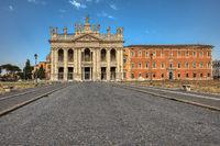 Basilica of San Giovanni in Laterano. Rome.