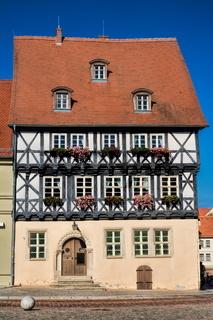 Köthen, Altes Fachwerkhaus