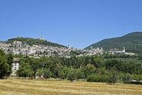 cityscape, landscape, Assisi, Italy, Europe