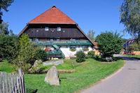 Brigach source-Danube source Brigach Black Forest Germany