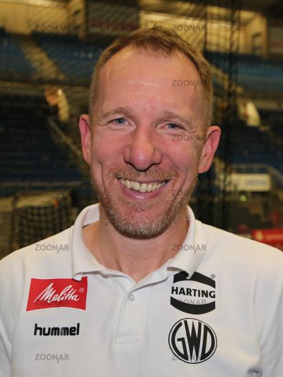 Headcoach Frank Carstens (GWD Minden)