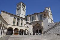 Basilica San Francesco, Assisi, Italy, Europe