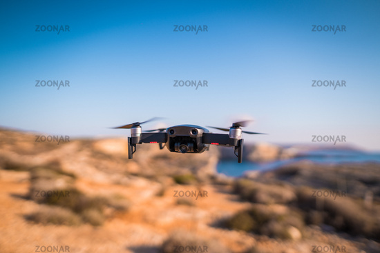 Drone Hovering Travel Location Coastal Photography Equipment Quadrocopter New