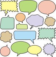Speech Bubble Set 1