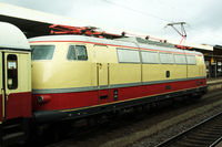 Anniversary trips in the traditional Trans Europ Express