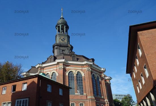 St. Michaelis Church in Hamburg