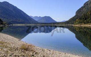 Sylvensteinsee,  Stausee bei Lenggries