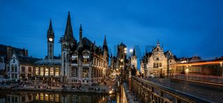 St. Nicholas' Church - Belfry of Ghent  - Belfried - Ghent Belgium - Gent Belgien