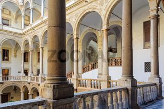 Maqueda Courtyard - Palermo