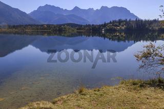 Barmsee, Karwendel, Oberbayern