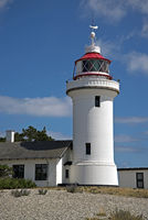 Lighthouse Sletterhage in Denmark