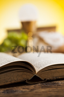 Bible, Eucharist, sacrament of communion background