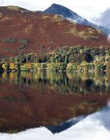 Derwentwater on a calm autumn morning