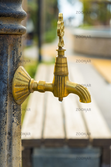 Ornamental Park Water Fountain Tap Spigot