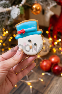 Gingerbread at Christmas time