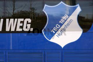 Mannschaftsbus TSG 1899 Hoffenheim