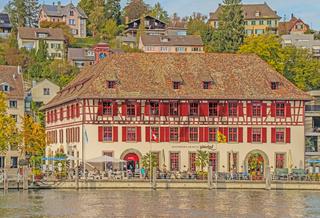 Güterhof am Hochrhein, Schaffhausen, Schweiz