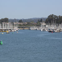 santa cruz harbor tourist destination