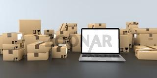 Notebook Shipping Cartons