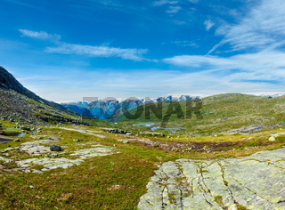 Summer highlands plateau, Norway