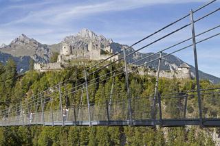 Ruine Ehrenberg in Tirol