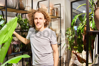 Florist als Verkäufer oder Azubi im Blumengeschäft
