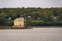 Rondout Lighthouse Beacon Station Hudson River Kingston Point New York