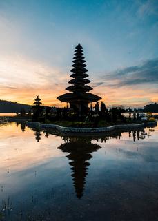 Pura Ulun Danu Beratan temple in Bali