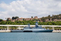 German Corvette F264 in Malaga, Spain