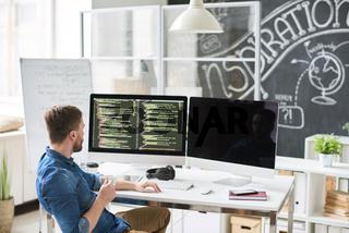 Modern developer thinking of application code