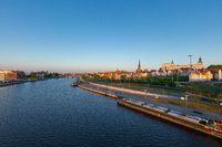 Embankment of the Oder in Szczecin