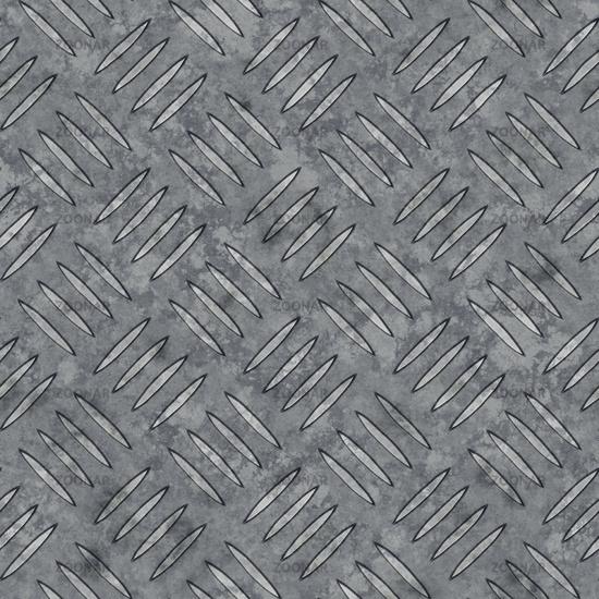 a seamless diamond metal plate texture