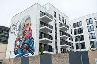 Berlin, Deutschland, Neue Wohnbauten in der Europacity in Moabit