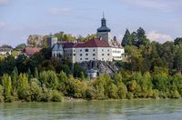 palace Persenbeug above the river Danube