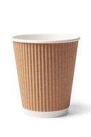 Single Cardboard Coffee Cup
