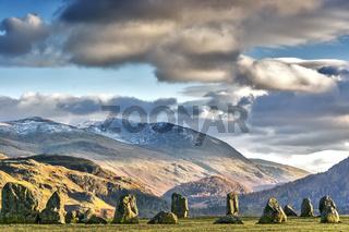 Castlerigg Stone Circle Cumbria UK