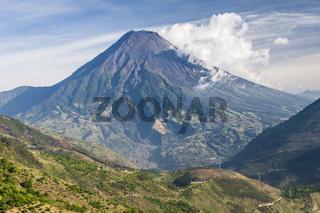 Vulkan Tungurahua, Ecuador