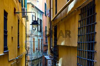 Old narrow side street