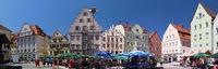 Gebaeude und Sehenswuerdigkeiten von Regensburg