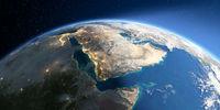 Detailed Earth. Saudi Arabia