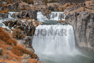 Shoshone Falls, Twin Falls. Idaho powerful waterfalls