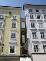 Salzburg - Smallest house in the old town, Austria