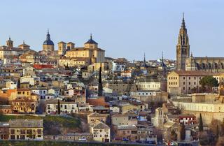 Toledo historical center, Spain