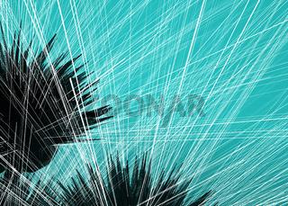 Blue String Web Background
